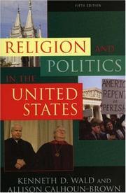 Religion and Politics in the United States PDF