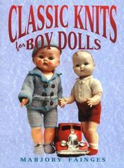 Classic Knits for Boy Dolls PDF