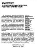 Twenty third IEEE/CPMT International Electronics Manufacturing Technology Symposium PDF