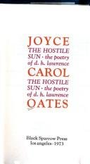 Cover of: The hostile sun by Joyce Carol Oates