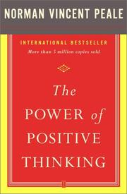 Cover of: The power of positive thinking by Norman Vincent Peale