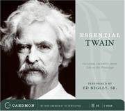 Cover of: Essential Twain CD: Excerpts from Life on the Mississippi:The Boy&#39;s Ambition &amp; Speculations and Confusion (Caedmon Essentials) by Mark Twain