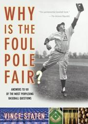 Why Is The Foul Pole Fair? PDF