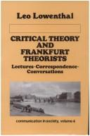 Critical Theory and Frankfurt Theorists PDF