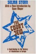 The court Jew by Selma Stern