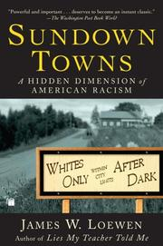 Sundown Towns by James W. Loewen