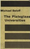 The plateglass universities by Michael Beloff