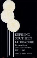 Defining Southern Literature PDF