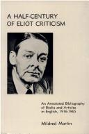 A Half-Century of Eliot Criticism PDF