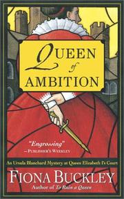 Cover of: Queen of Ambition by Fiona Buckley
