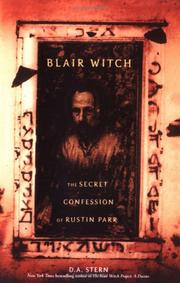 Cover of: Blair Witch by D. A. Stern