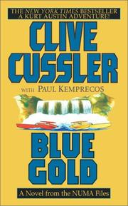 Cover of: Blue Gold | Clive Cussler, Paul Kemprecos