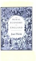 The Rural Economy of England PDF
