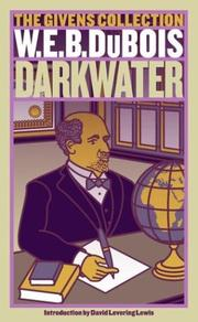 Darkwater by Du Bois, W. E. B., Carl Hancock Rux