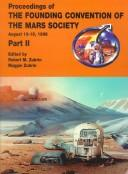 Proceedings of The Founding Convention of the Mars Society, held August 13-16, 1998, Boulder, Colorado PDF
