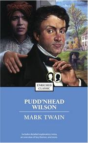 Cover of: Pudd'nhead Wilson by Mark Twain
