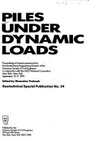 Piles Under Dynamic Loads PDF