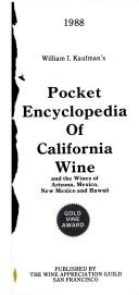 Pocket Encyclopedia of California Wine and Other Western States PDF