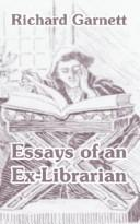 Essays Of An Ex-librarian PDF