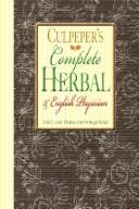 The complete herbal by Nicholas Culpeper