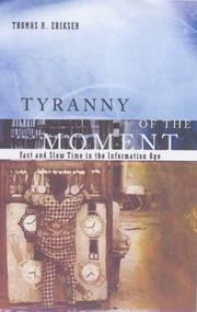 Tyranny of the Moment PDF