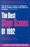 The Best Stage Scenes of 1992 (Best Stage Scenes) PDF