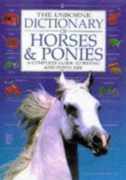 Dictionary Of Horses And Ponies PDF