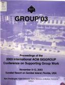 Supporting Group Work 2003 PDF
