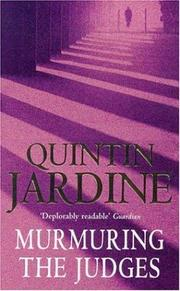 Murmuring the Judges by Quintin Jardine