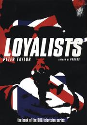 Loyalists by Taylor, Peter
