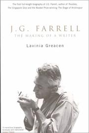 Cover of: J. G. Farrell by Lavinia Greacen