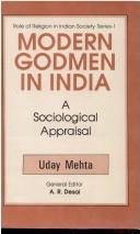 Modern godmen in India by Uday Mehta