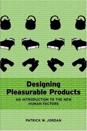 Designing Pleasurable Products PDF