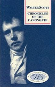 Chronicles of the Canongate by Sir Walter Scott