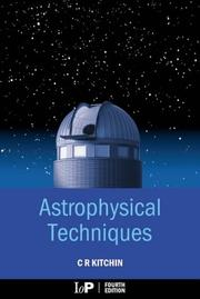 Astrophysical techniques by C. R. Kitchin
