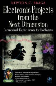 Electronic projects from the next dimension by Newton C. Braga