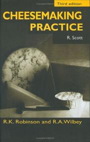 Cheesemaking practice by R. Scott