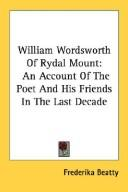 William Wordsworth of Rydal Mount PDF