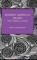 Modern American Drama by June Schlueter