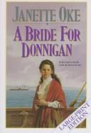 A Bride for Donnigan (Women of the West #7) by Janette Oke