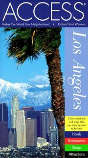 Access Los Angeles by Richard Saul Wurman