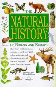 Natural History of Britain and Europe PDF