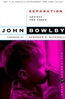 Attachment and loss by John Bowlby