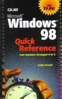 Microsoft Windows 98 Quick Reference PDF