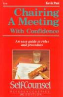 Chairing a Meeting With Confidence PDF