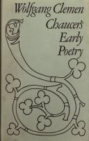 Chaucers early poetry