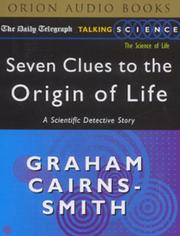 Seven Clues to the Origin of Life (Daily Telegraph Talking Science) PDF