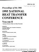 Proceedings of the 1995 National Heat Transfer Conference PDF