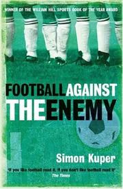 Football Against the Enemy PDF
