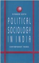 Political Sociology in India- contemporary trends PDF